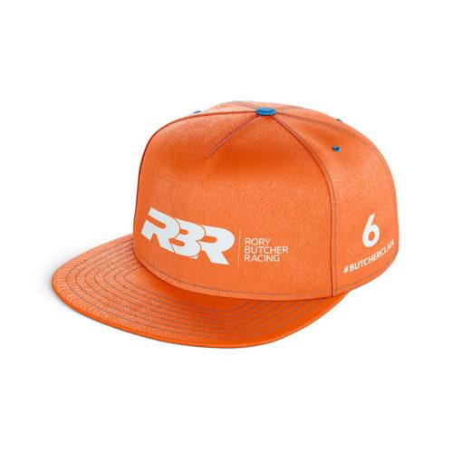 Rory Butcher Orange Snap Back